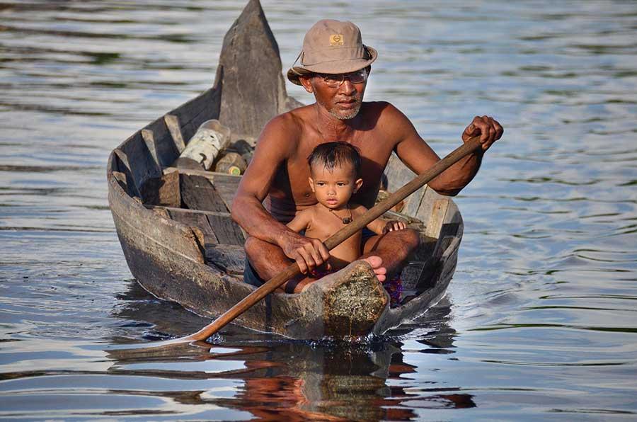Tonle Sap River & Lake   Cambodian River Cruises on Sovanna