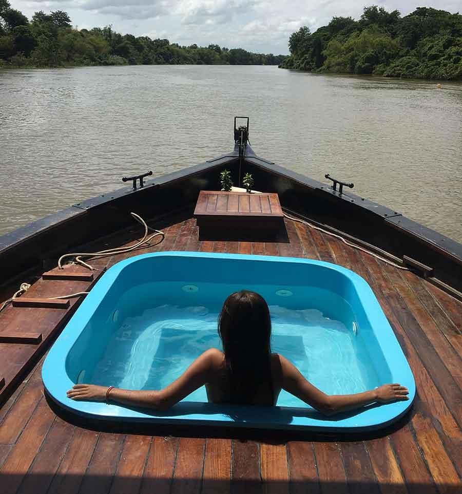 Phonm Penh to Kampong Chhnang Cambodian River Cruises
