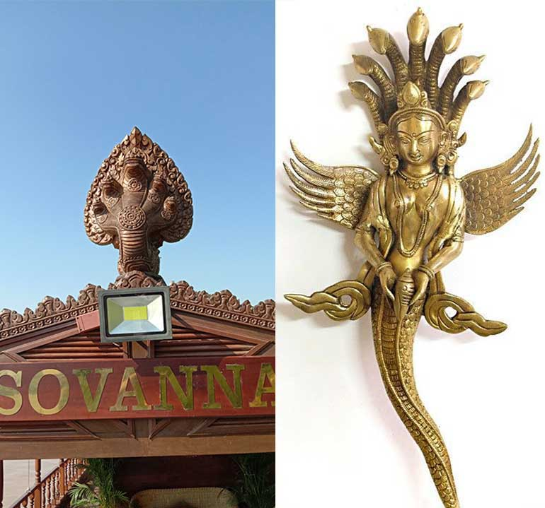 Sovanna's 'Naga Princess' Figurehead a salute to the Khmer Kingdom